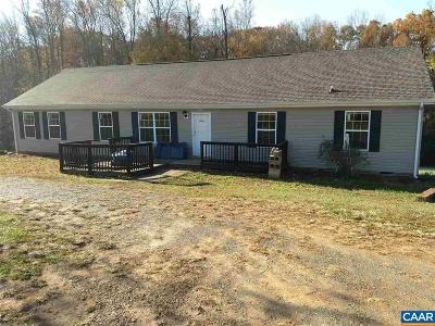 Buckingham County Single Family Home For Sale: 2966 Slate Hill Rd