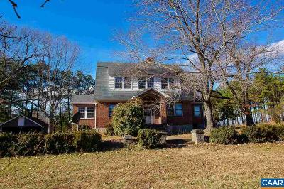 Buckingham County Single Family Home For Sale: 22889 N James Madison Hwy