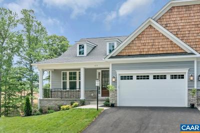Charlottesville Townhome For Sale: 7 Free State Dr