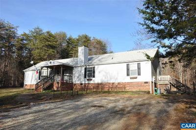 Nelson County Single Family Home For Sale: 780 Old Stoney Creek Rd