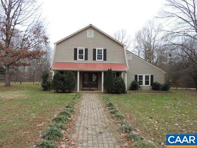Buckingham County Single Family Home For Sale: 1208 Perkins Mill Rd