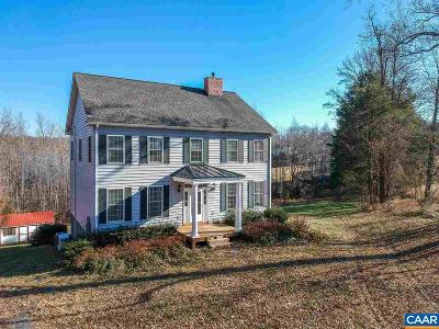 Palmyra Single Family Home For Sale: 1349 Georges Mill Rd