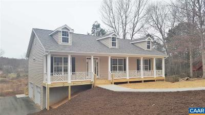 Earlysville Single Family Home For Sale: 402 Link Evans Ln