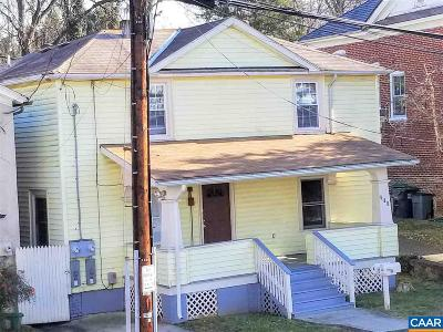 Charlottesville Single Family Home For Sale: 218 5th St SW