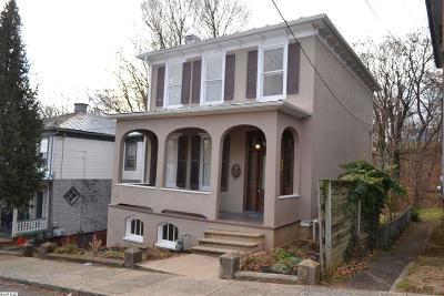 Staunton Single Family Home For Sale: 234 N Madison St