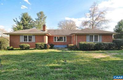 Charlottesville Single Family Home For Sale: 2516 Northfield Rd