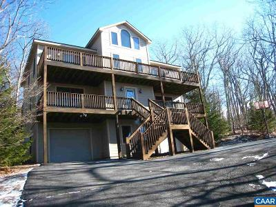 Wintergreen Single Family Home For Sale: 403 Devils Knob Loop