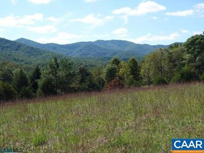 Nelson County Lots & Land For Sale: Rainbow Ridge Rd