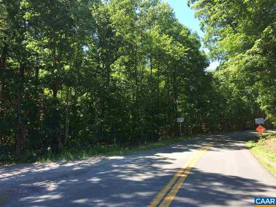 Louisa County Lots & Land For Sale: Poindexter Rd