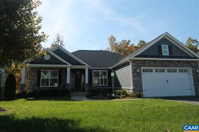 Gordonsville Single Family Home For Sale: 129 Timber Ridge Ln