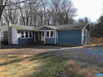 Albemarle County Single Family Home For Sale: 2121 Dudley Mountain Rd