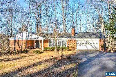 Earlysville Single Family Home For Sale: 490 Willwood Dr