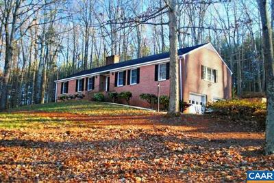 Charlottesville Single Family Home For Sale: 4029 Carters Mountain Rd