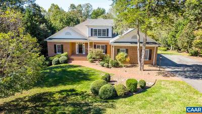 Glenmore (Albemarle), Keswick Farms, Keswick Estate, Keswick Royal Acres Single Family Home For Sale: 3220 Heathcote Ln