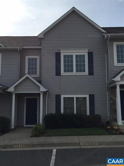 Louisa County Townhome For Sale: 233 Lake Front Dr