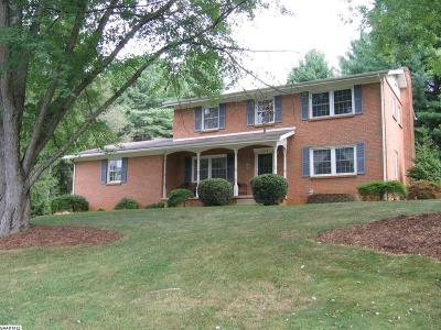 Staunton Single Family Home For Sale: 1024 Ridgemont Dr