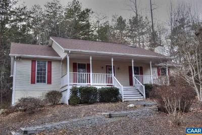 Fluvanna County Single Family Home For Sale: 18 Turkeysag Trl
