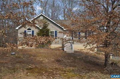 Palmyra VA Single Family Home For Sale: $179,000