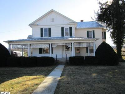Waynesboro Single Family Home For Sale: 951. Kiddsville Rd
