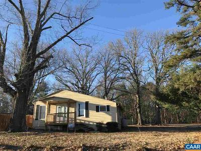 Palmyra Single Family Home For Sale: 1129 Bybees Church Rd