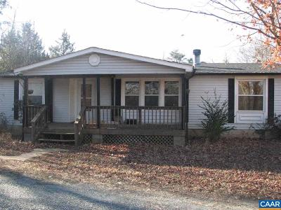 Fluvanna County Single Family Home For Sale: 4247 Rising Sun Rd