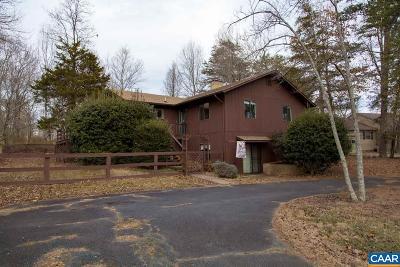 Fluvanna County Single Family Home For Sale: 19 Bunker Blvd