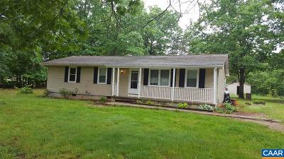 Louisa County Single Family Home For Sale: 1075 Johnson