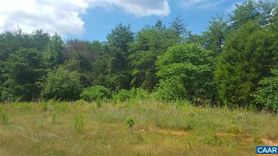 Fluvanna County Lots & Land For Sale: 3859 Shores Rd