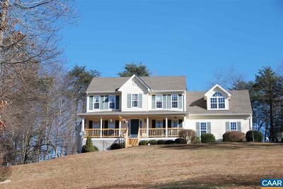 Charlottesville Single Family Home For Sale: 1956 Lakeside Dr