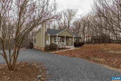 Scottsville Single Family Home For Sale: 347 Branch Rd