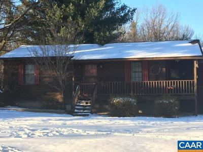 Buckingham County Single Family Home For Sale: 191 Red Rd