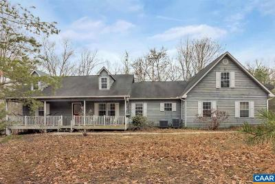 Albemarle County Single Family Home For Sale: 4455 Woods Edge Rd