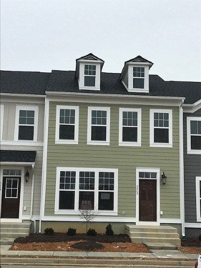 Rockingham County Townhome For Sale: 3263 Battery Park Pl