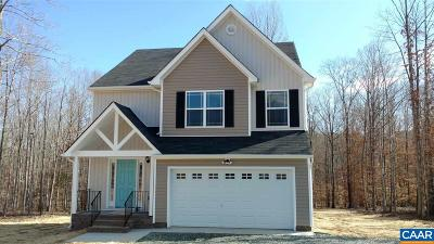 Fluvanna County Single Family Home For Sale: 26 Indigo Ln #29