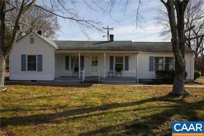 Gordonsville Single Family Home For Sale: 374 Mahanes Rd