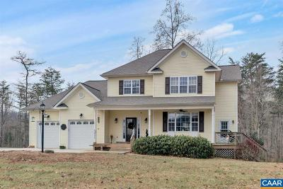 Single Family Home For Sale: 1411 Middle River Rd