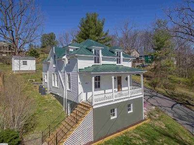 Staunton Single Family Home For Sale: 402 Baltimore Ave