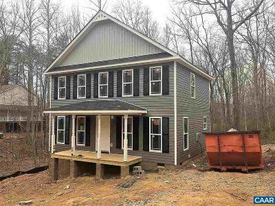 Fluvanna County Single Family Home For Sale: Lot 365 Sherwood Dr