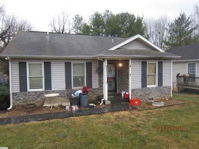 Staunton Single Family Home For Sale: 211 Hamrick St
