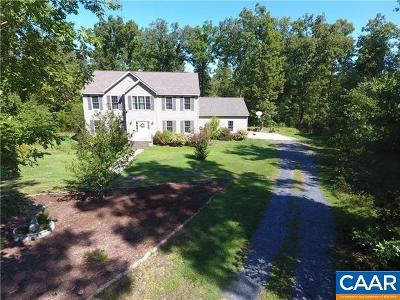 Buckingham County Single Family Home For Sale: 2210 Stagecoach Rd