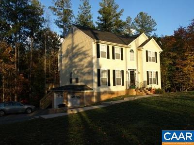 Louisa County Single Family Home For Sale: 320 Willow Ridge Rd
