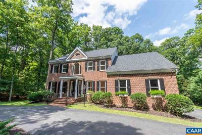 Charlottesville Single Family Home For Sale: 3026 Beau Mont Farm Rd