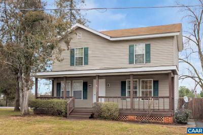 Louisa County Single Family Home For Sale: 202 Richmond Ave