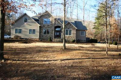 Nelson County Single Family Home For Sale: 1687 Monocan Dr