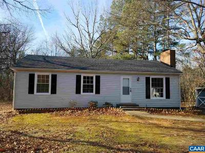 Louisa County Single Family Home For Sale: 165 Smith Rd