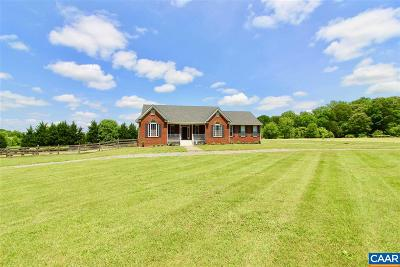 Louisa County Single Family Home For Sale: 785 Burruss Mill Rd
