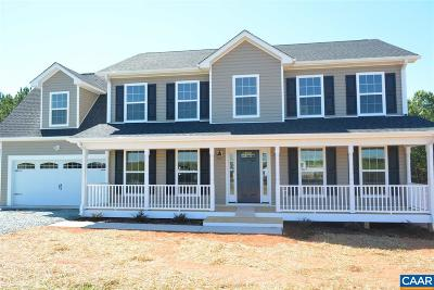 Fluvanna County Single Family Home For Sale: 15 Rosewood Dr