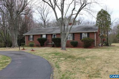 Single Family Home For Sale: 28371 N James Madison Hwy