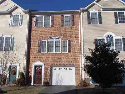 Rockingham County Townhome For Sale: 3081 Taylor Spring Ln