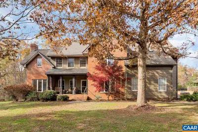 Albemarle County Single Family Home For Sale: 5210 Tanager Woods Dr